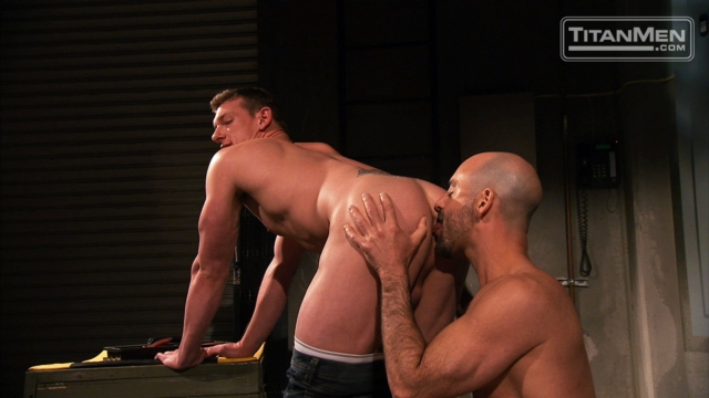 Adam Russo and Kieron Ryan