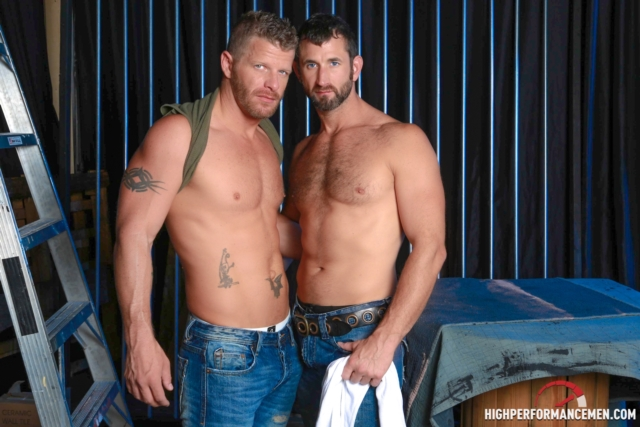 Jeremy Stevens and CJ Parker
