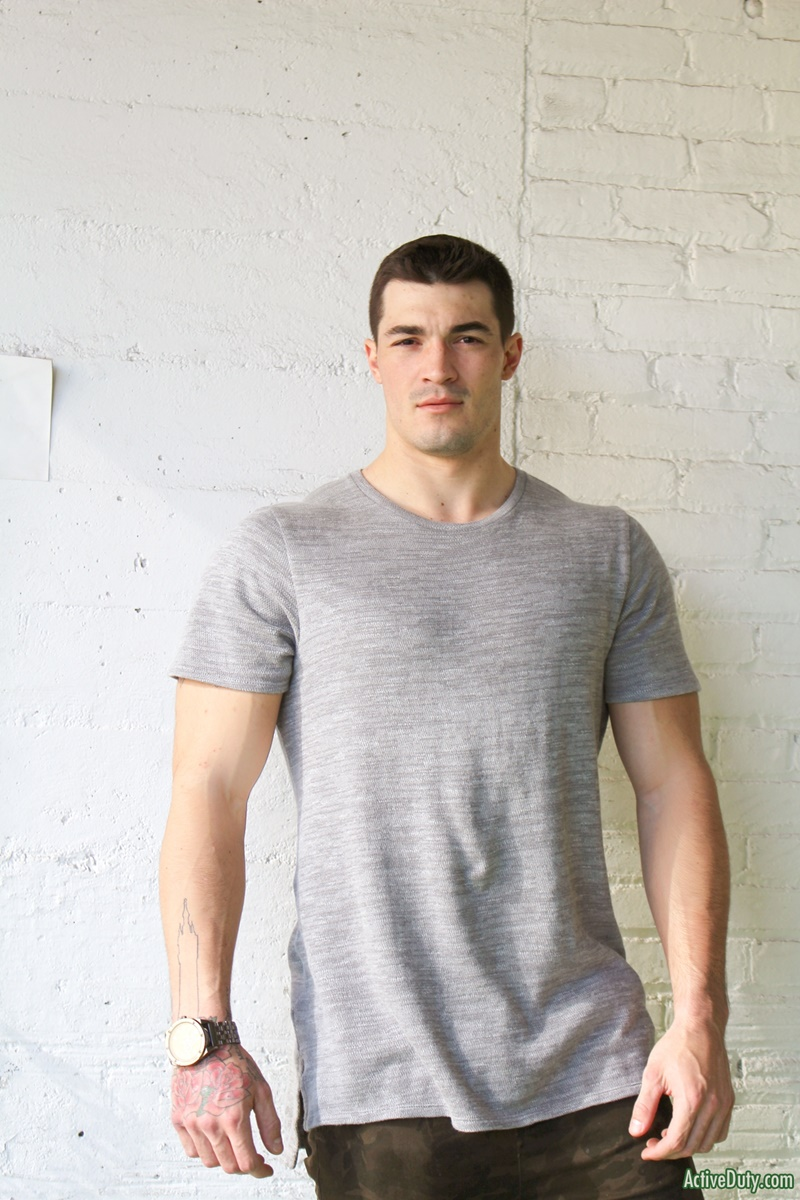 23 year old Active Duty Scott six foot of lean muscle