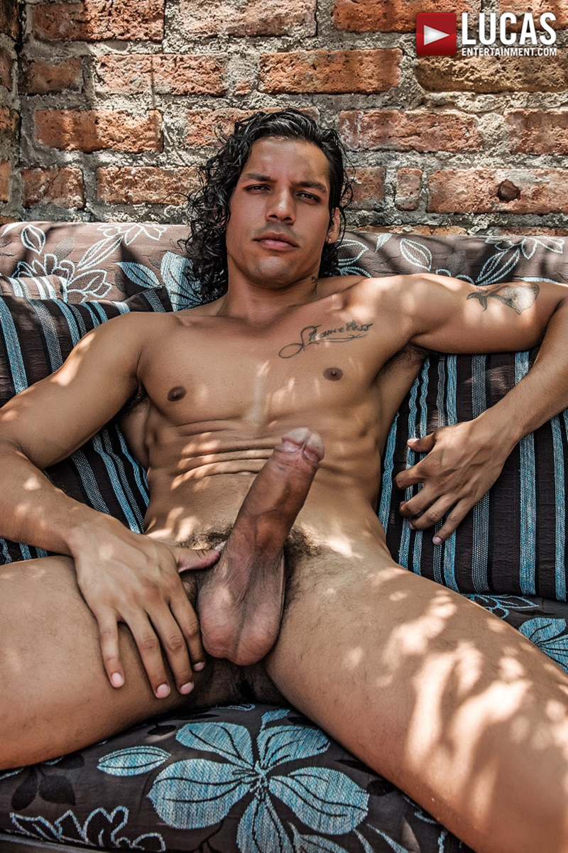 James Castle bottoms for Alejandro Castillo's big uncut cock