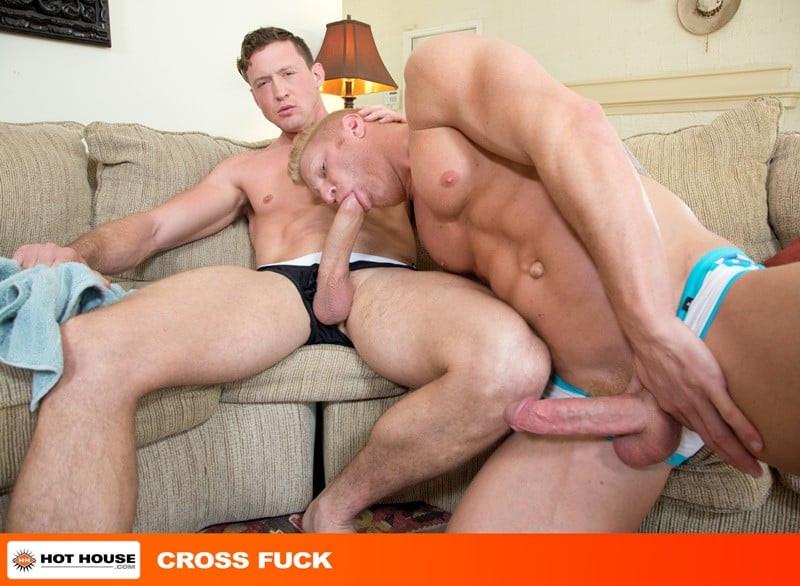 Pierce Paris' huge cock hits all the right spots inside Johnny V's hot bubble butt ass