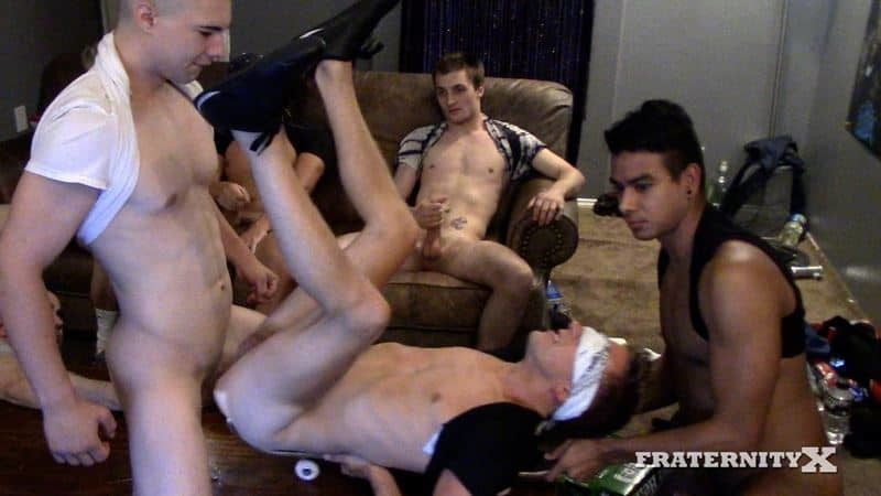 Real frat boy's initiation at Fraternity X
